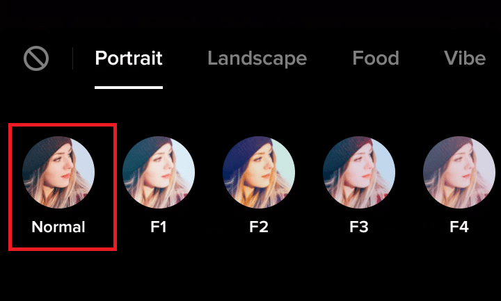 Remove Tiktok Filters added after Recording the video