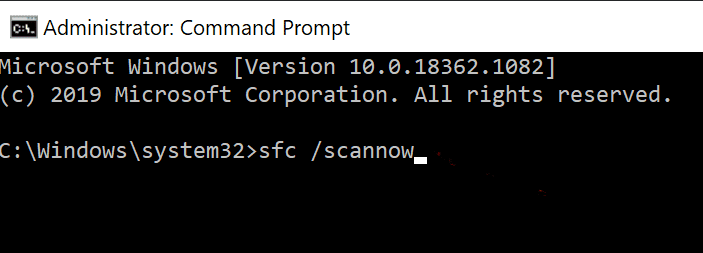 Enter the following command and hit Enter: sfc /scannow Fix Command Prompt Appears then Disappears on Windows 10