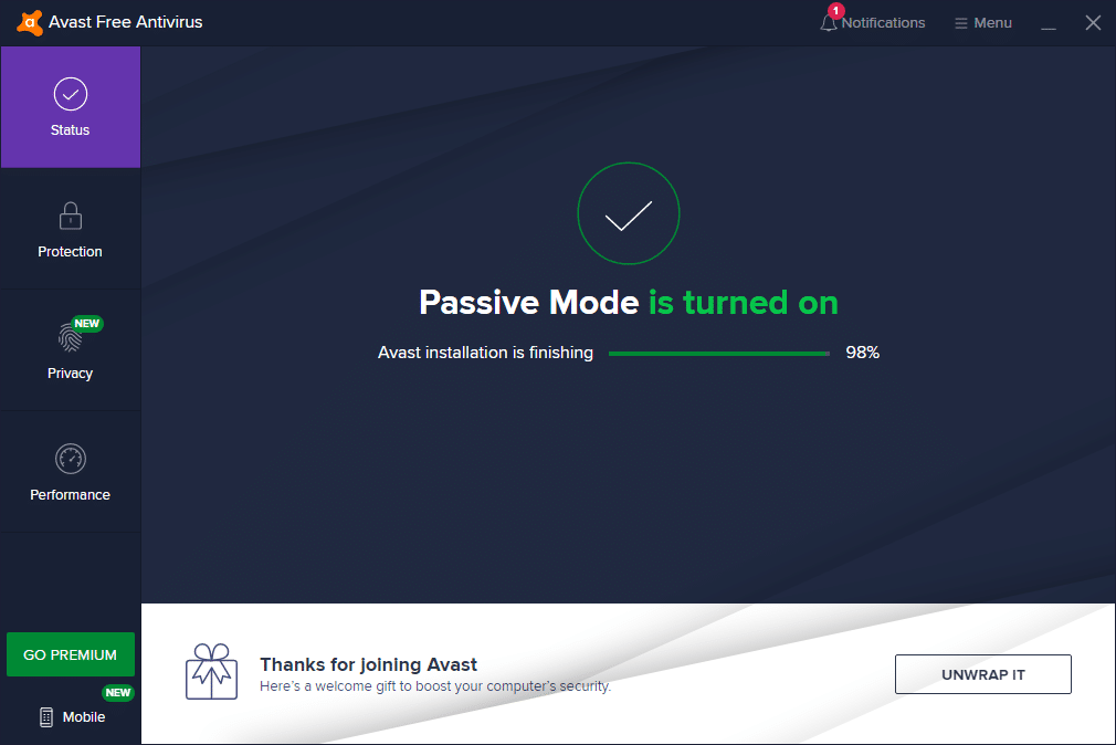 Open Avast Antivirus on your computer | Fixed: Avast Blocking LOL (League of Legends)