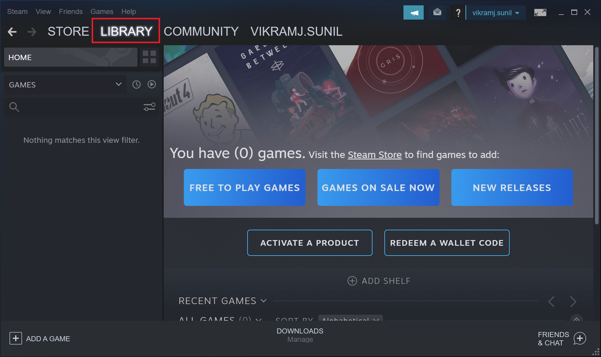 Open steam Library
