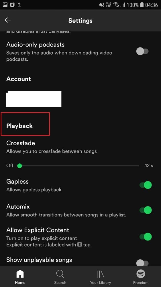 Playback   Fixed: Spotify Search Not Working