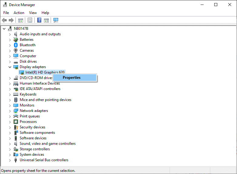 Right-click on the expanded field and click on Properties.   Fix HDMI No Sound in Windows 10 When Connected to TV