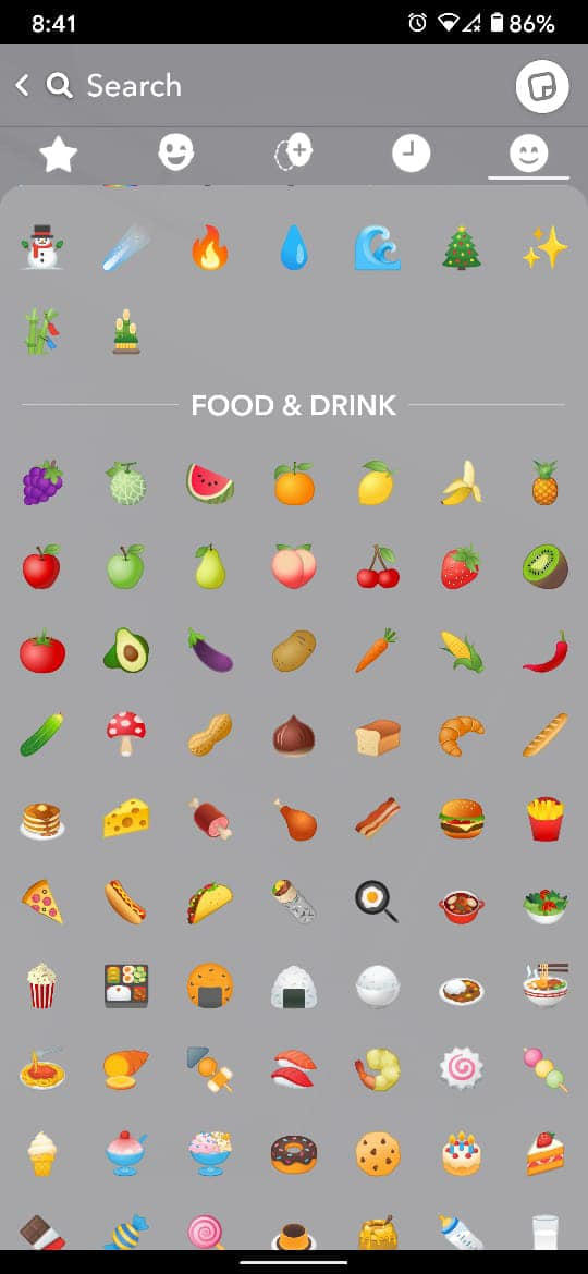 From the list of fruit emojis there, select the emoji. Snapchat Fruit Meaning