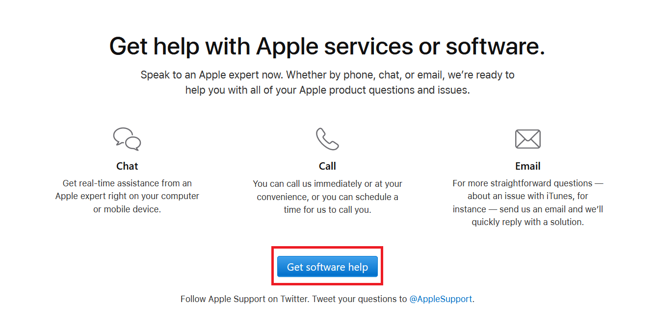 Get Software Help Apple. How to Contact Apple Live Chat Team