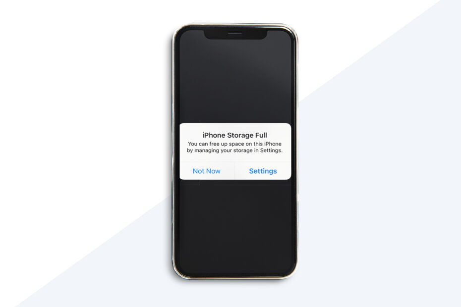 How to Fix iPhone Storage Full Issue