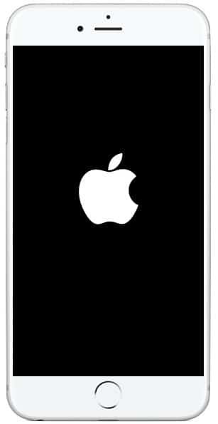 Long-press the Home button until the Apple logo appears
