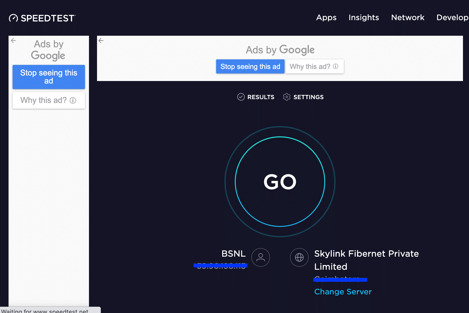 Run a quick internet speed test. Fix FaceTime Not Working on Mac
