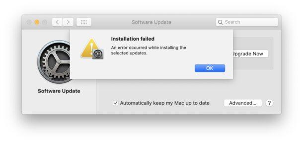 Fix macOS Installation Failed Error