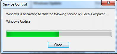 """You will receive a prompt, """"Windows is attempting to start the following service on Local Computer…"""""""