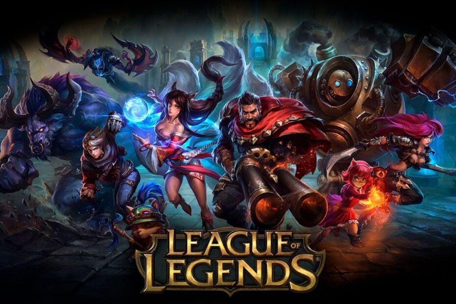 Fix League of Legends Frame Drops