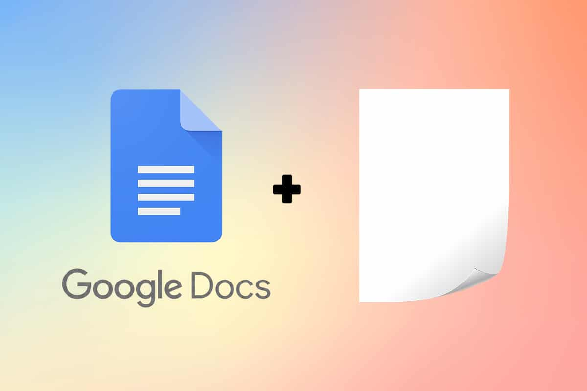 How to Add a Page in Google Docs