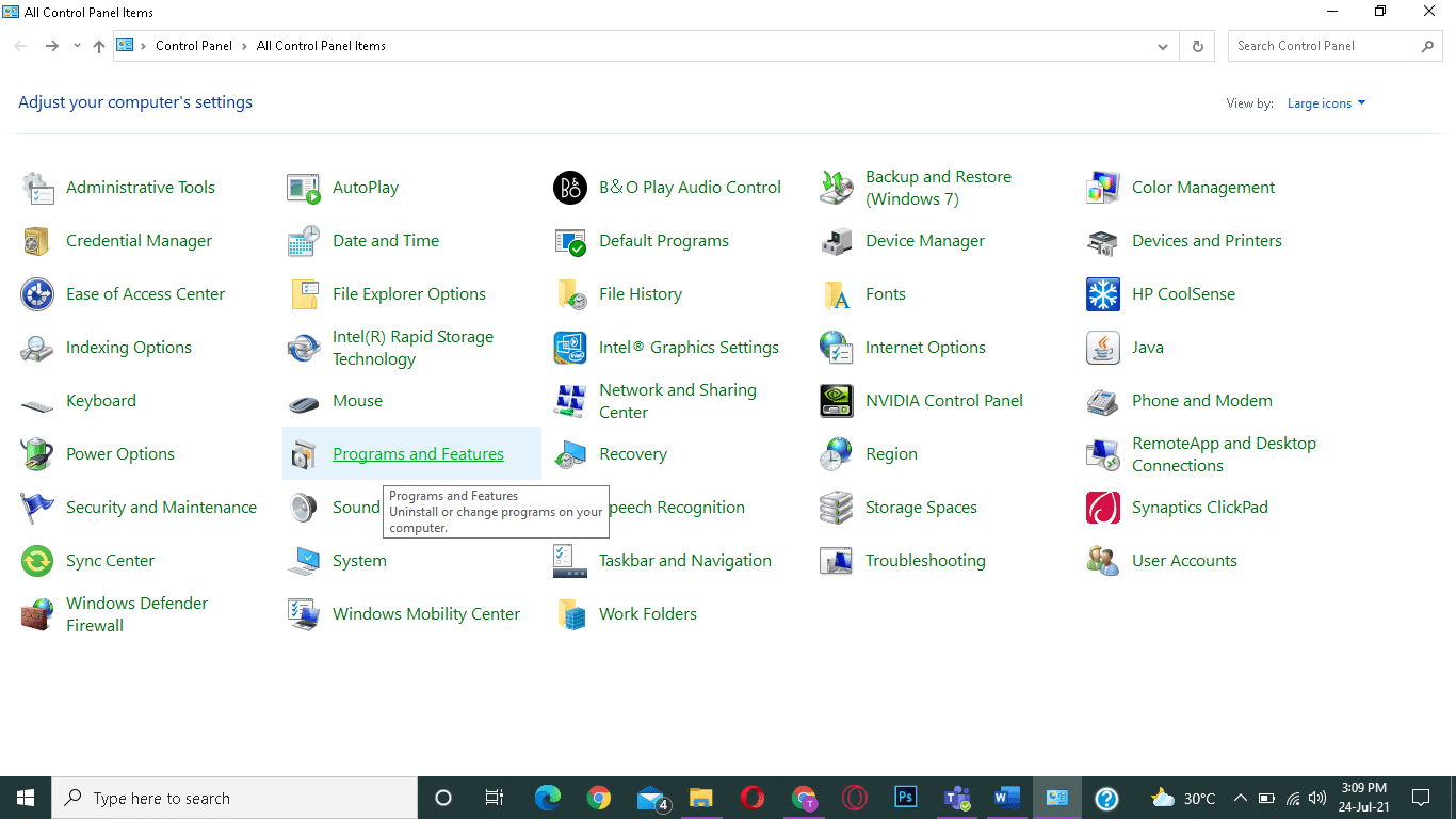 Select Programs and Features. Fix connection refused no further information Minecraft error
