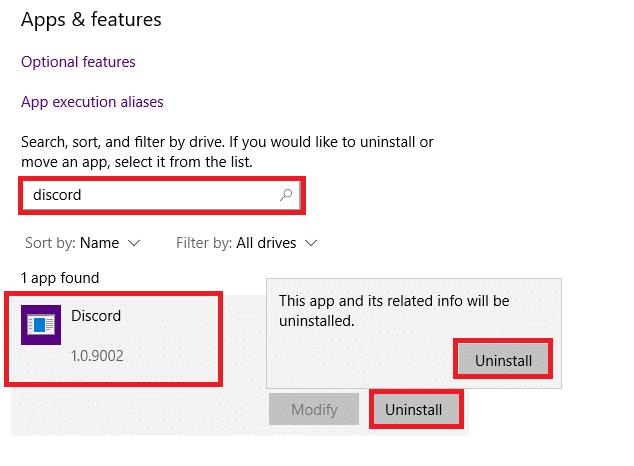 Uninstall Discord. fix Discord notifications not working