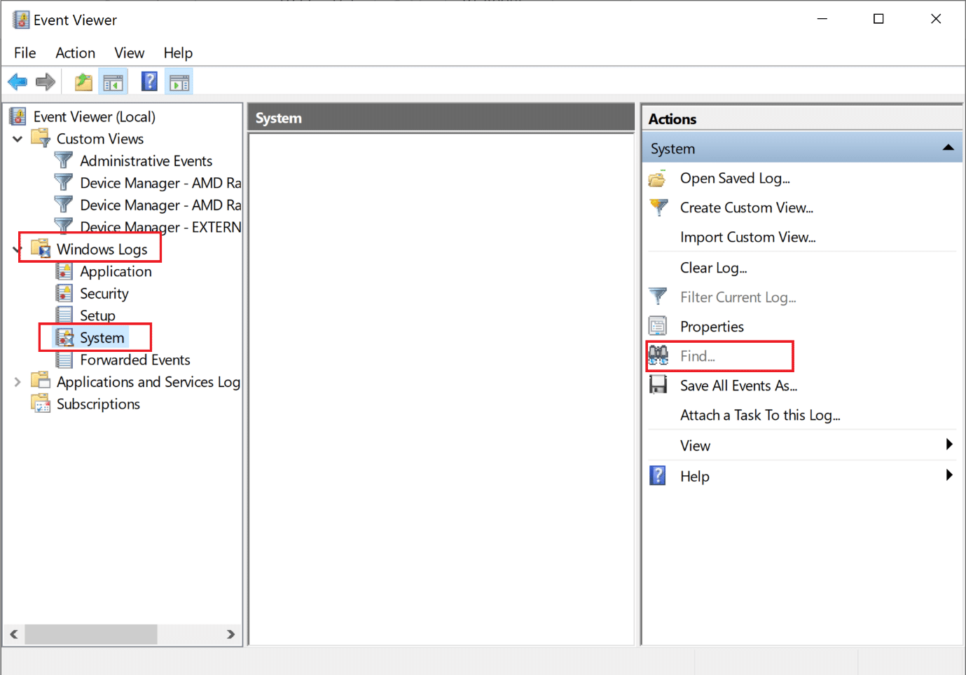 go to windows logs then system in Event Viewer. How to Fix Destiny 2 Error Code Broccoli on Windows 10