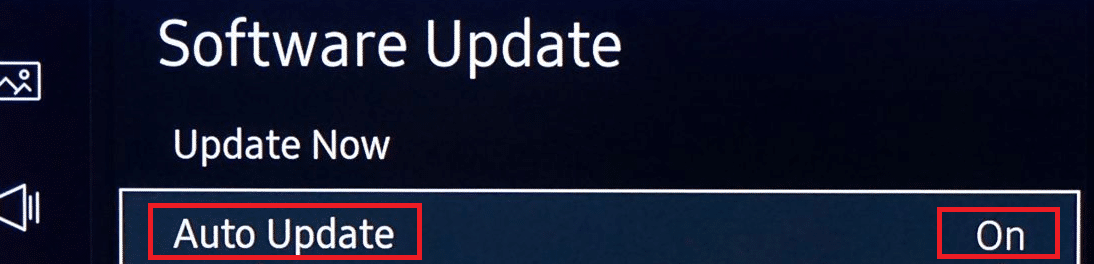 Here, select the Auto Update feature ON
