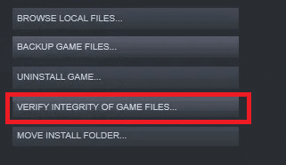 Now, switch to the LOCAL FILES tab and click on VERIFY INTEGRITY OF GAME FILES… Fix Steam Application Load Error 3:0000065432
