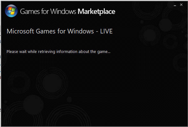 Now, wait for few seconds till the system retrieves information about the game and installation to be completed.