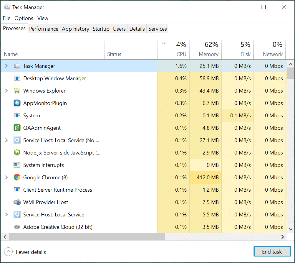 Processes tab. Fix Logitech Gaming Software Not Opening