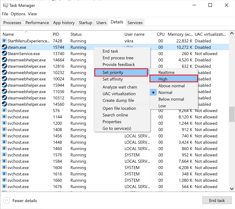Set destiny 2 game as high priority. How to Fix Destiny 2 Error Code Broccoli on Windows 10