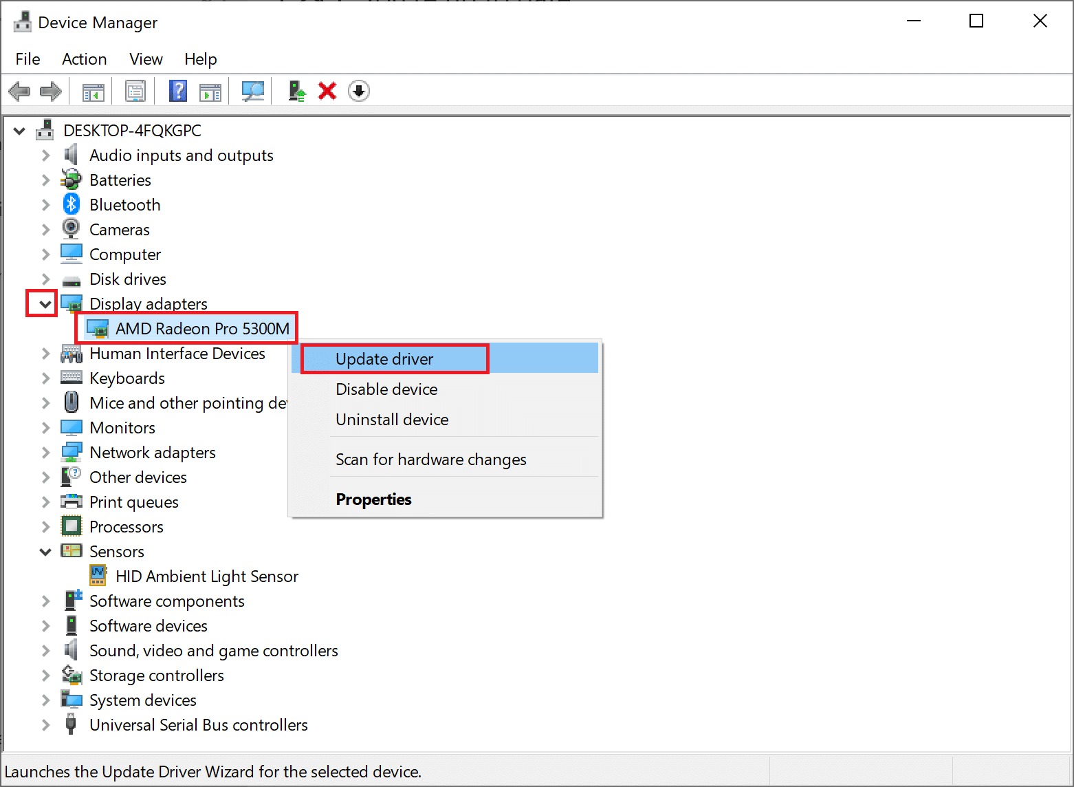 Right-click on your Graphics card driver and select Update driver. Fix Destiny 2 Error Code Broccoli on Windows 10