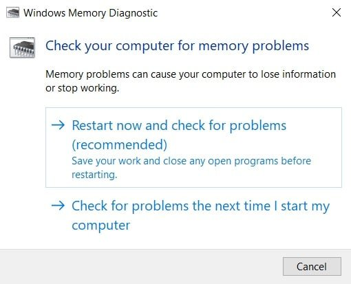 Windows memory diagnostic. How to Fix Destiny 2 Error Code Broccoli on Windows 10