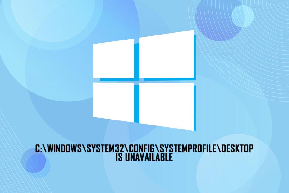 ix Desktop Location is Unavailable Error in Windows 10