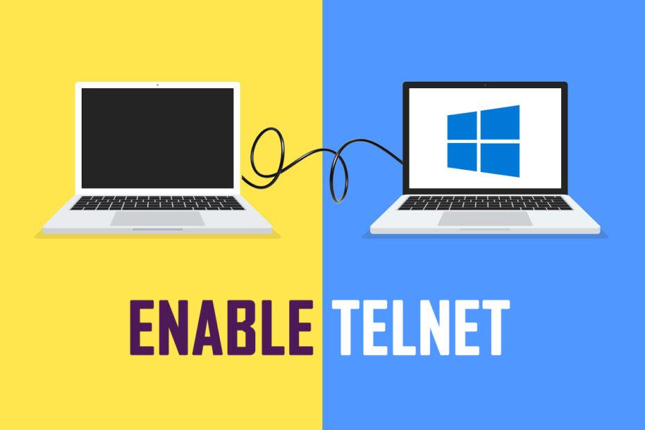 How to Enable Telnet in Windows 7/10