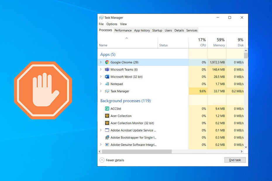 How to End Task in Windows 10